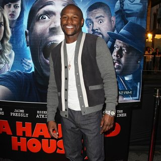 Floyd Mayweather, Jr. in Premiere of Open Road Films' A Haunted House 2 - Arrivals