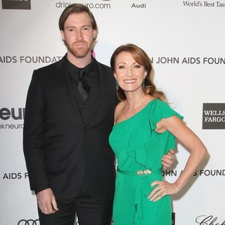 Sean Flynn, Jane Seymour in 21st Annual Elton John AIDS Foundation's Oscar Viewing Party