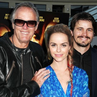 Peter Fonda, Taryn Manning, Jason Ritter in The Perfect Age of Rock 'n' Roll Los Angeles Premiere