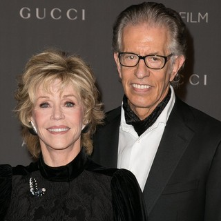 Jane Fonda, Richard Perry in LACMA 2012 Art + Film Gala - Arrivals