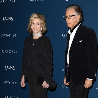 Jane Fonda, Richard Perry in LACMA 2013 Art and Film Gala Honoring Martin Scorsese and David Hockney Presented by Gucci