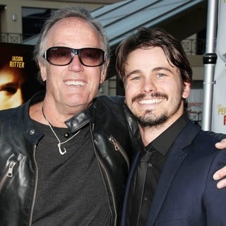 Peter Fonda, Jason Ritter in The Perfect Age of Rock 'n' Roll Los Angeles Premiere
