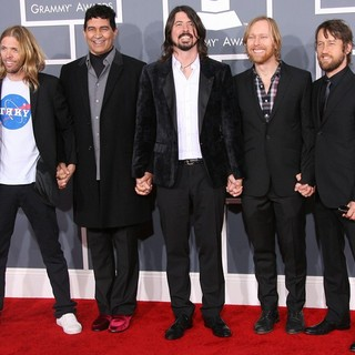 Foo Fighters in 54th Annual GRAMMY Awards - Arrivals