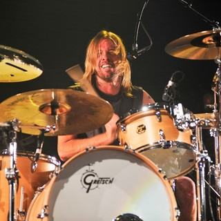 Taylor Hawkins, Foo Fighters in Foo Fighters Perform During BBC Radio 1's Big Weekend 2011 - Performance