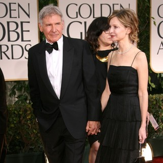 Harrison Ford, Calista Flockhart in The 69th Annual Golden Globe Awards - Arrivals