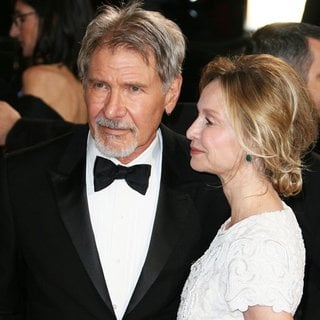 Harrison Ford, Calista Flockhart in The 86th Annual Oscars - Red Carpet Arrivals