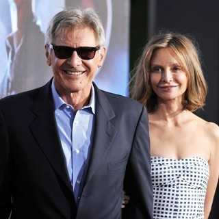 Harrison Ford, Calista Flockhart in Cowboys and Aliens Premiere - Arrivals