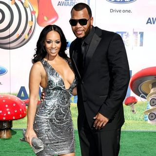 Melyssa Ford, Flo Rida in BET Awards 2011