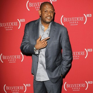 Forest Whitaker in RED Pre-Grammys Party with Mary J. Blige