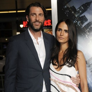 Andrew Form, Jordana Brewster in Los Angeles Premiere of Project Almanac - Arrivals