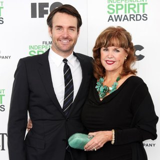 Will Forte, Patricia C. Stivers in The 2014 Film Independent Spirit Awards - Arrivals