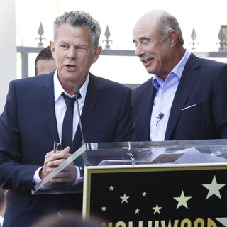 David Foster, Phil McGraw in David Foster Honored with Star on The Hollywood Walk of Fame