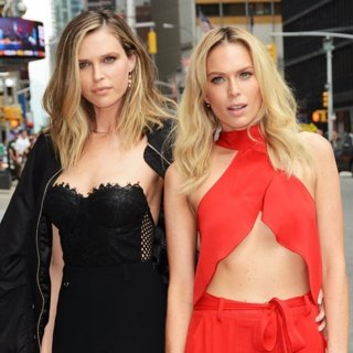 Erin Foster and Sara Foster Out and About in NYC
