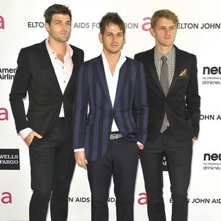 Foster the People in The 20th Annual Elton John AIDS Foundation's Oscar Viewing Party - Arrivals