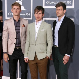 Foster the People in 54th Annual GRAMMY Awards - Arrivals