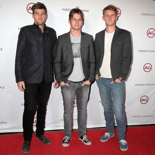 Foster the People in Foster the People at Marquee Nightclub