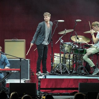 Foster the People in The Y100 Jingle Ball 2011