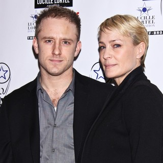 Ben Foster, Robin Wright Penn in 28th Annual Lucille Lortel Awards - Arrivals