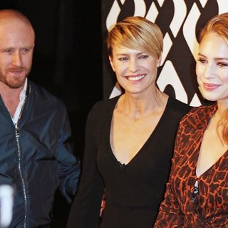 Ben Foster, Robin Wright Penn, Dylan Penn in Diane von Furstenberg's Journey of A Dress 40th Anniversary Party - Arrivals