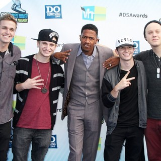 Four Count, Nick Cannon in The DoSomething.org and VH1's 2012 Do Something Awards