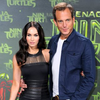 Megan Fox, Will Arnett in German Premiere of Teenage Mutant Ninja Turtles