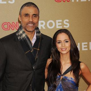 Rick Fox, Eliza Dushku in 2011 CNN Heroes: An All-Star Tribute