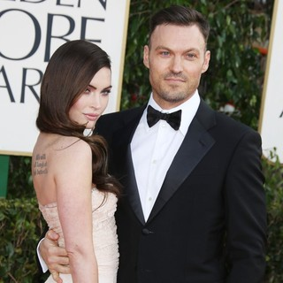 Megan Fox, Brian Austin Green in 70th Annual Golden Globe Awards - Arrivals