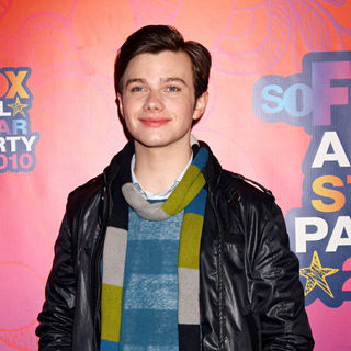 Chris Colfer in Fox All-Star Party