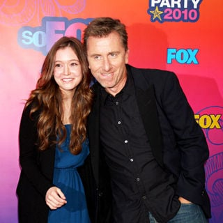 Hayley McFarland, Tim Roth in Fox All-Star Party