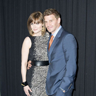 Emily Deschanel, David Boreanaz in FOX Upfront Afterparty - Arrivals