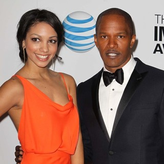 Corrine Foxx, Jamie Foxx in The 44th NAACP Image Awards