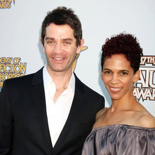 James Frain, Marta Cunningham in The 2011 Saturn Awards - Arrivals