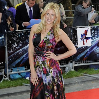 Francesca Hull in The Premiere of The Amazing Spider-Man