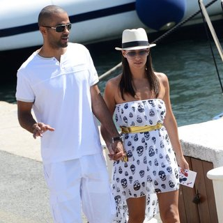 Tony Parker and Axelle Francine Spend A Holiday