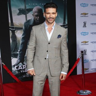 Frank Grillo in Captain America: The Winter Soldier Los Angeles Premiere