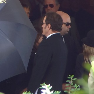 Frank Stallone in The Funeral of Sage Stallone