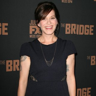 Franka Potente in FX's The Bridge Premiere