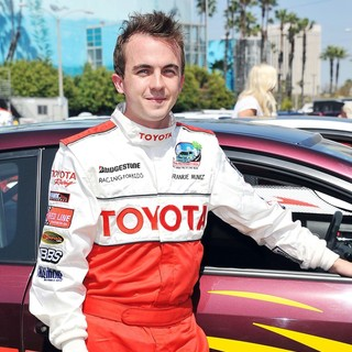 Frankie Muniz in The 35th Annual Toyota Pro-Celebrity Race - Press-Practice Day