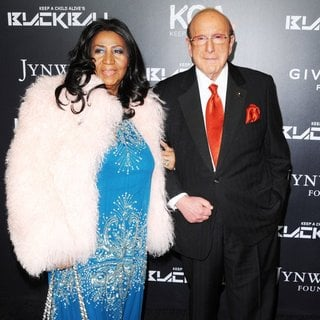 Aretha Franklin, Clive Davis in Keep A Child Alive's 11th Annual Black Ball - Red Carpet Arrivals