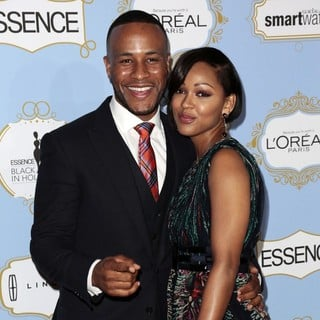 DeVon Franklin, Meagan Good in 6th Annual Essence Black Women in Hollywood Luncheon