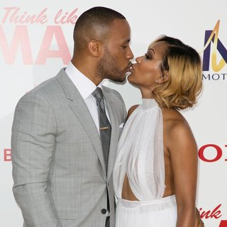 DeVon Franklin, Meagan Good in Film Premiere of Think Like a Man Too