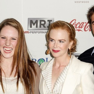 Missy Franklin, Nicole Kidman, Nathan Adrian in Gold Meets Golden Event