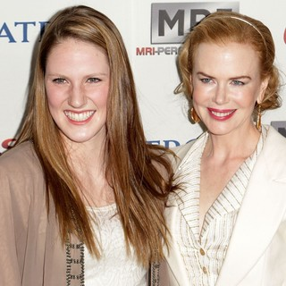 Missy Franklin, Nicole Kidman in Gold Meets Golden Event