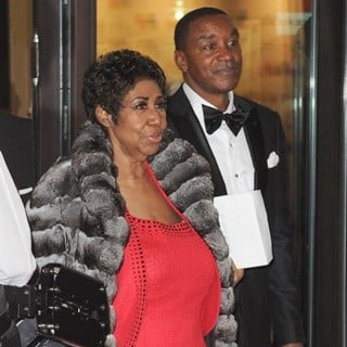 Aretha Franklin, Isiah Thomas in 2016 Kennedy Center Honors - Arrivals