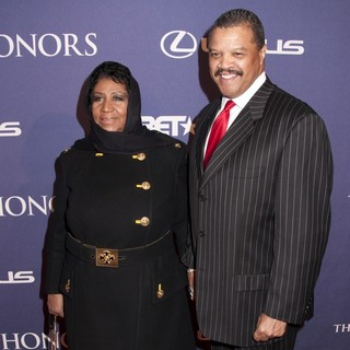 Aretha Franklin, William Wilkerson in BET Honors 2012 - Red Carpet Arrivals