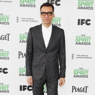 Fred Armisen in The 2014 Film Independent Spirit Awards - Arrivals - fred-armisen-2014-film-independent-spirit-awards-05