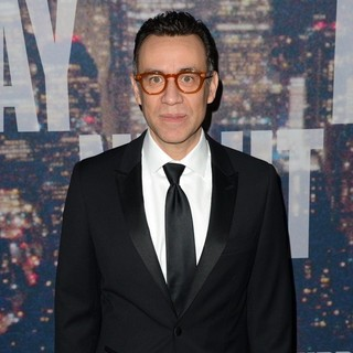 Fred Armisen in Saturday Night Live 40th Anniversary Special - Red Carpet Arrivals - fred-armisen-snl-40th-anniversary-special-02