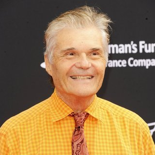 Fred Willard in Film Premiere Planes: Fire and Rescue