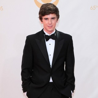 Freddie Highmore in 65th Annual Primetime Emmy Awards - Arrivals