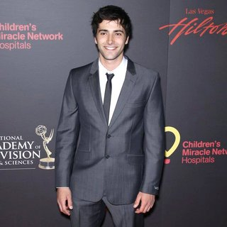 Freddie Smith in 2011 Daytime Emmy Awards - Red Carpet